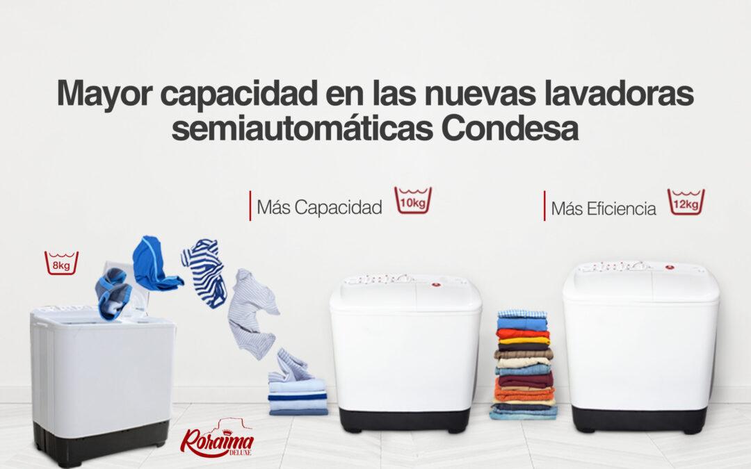 Lavadoras Semiautomáticas de Condesa