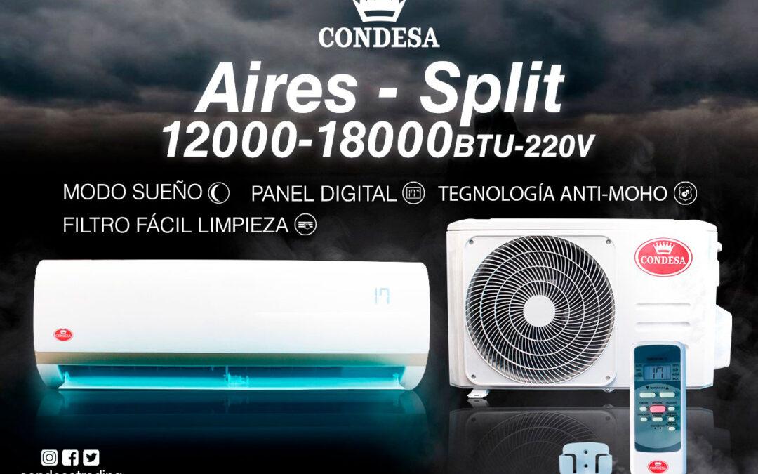 Condesa presenta su nuevo Aire Acondicionado Split